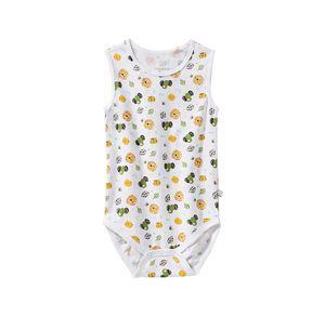 Liegelind Baby-Jungen-Body mit süßem Tiermuster