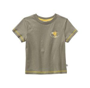 Liegelind Baby-Jungen-T-Shirt mit Giraffen-Aufdruck