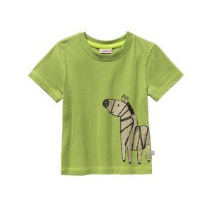 Liegelind Baby-Jungen-T-Shirt mit Zebra-Aufdruck