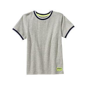 Kids Jungen-T-Shirt mit schicken Kontrast-Effekten