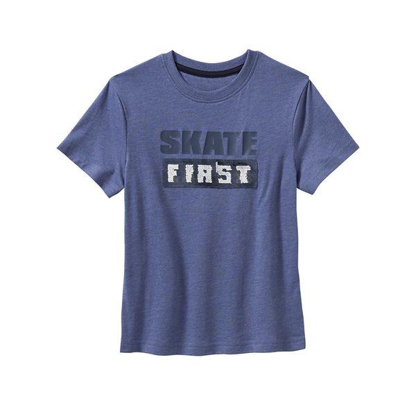 Kids Jungen-T-Shirt mit Wendepailletten