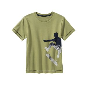 Kids Jungen-T-Shirt mit Skater-Aufdruck
