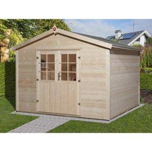 Weka Holz-Gartenhaus Ravenna C BxT: 300 cm x 235 cm