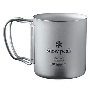 Snow Peak Titan Thermobecher Faltgriff - Thermobecher
