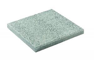 """Diephaus              Terrassenplatte """"No. 1 Flix"""", 40x40x4 cm, weiß"""