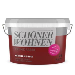 """Schöner Wohnen Farbe              Trendfarbe """"Amarena"""""""