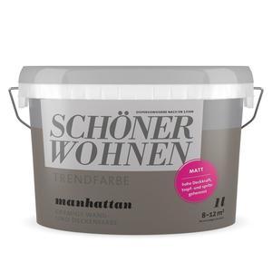 """Schöner Wohnen Farbe              Trendfarbe """"Manhatten"""""""