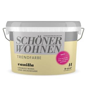 """Schöner Wohnen Farbe              Trendfarbe """"Vanilla"""""""