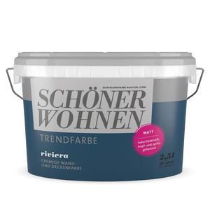 """Schöner Wohnen Farbe              Trendfarbe """"Riviera"""""""