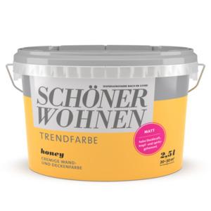 Schöner Wohnen Farbe              Trendfarbe Honey