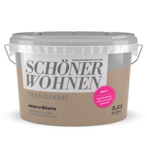 Schöner Wohnen Farbe              Trendfarbe macchiato 2,5 L
