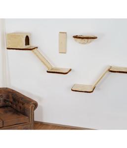 Silvio Design Katzen-Kletterwand, 8-teilig
