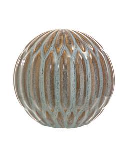 Dehner DECORA Keramik-Kugel RONDA C4P5, Ø 15 cm