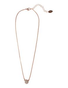 Damen Halskette mit Ziersteinbesatz