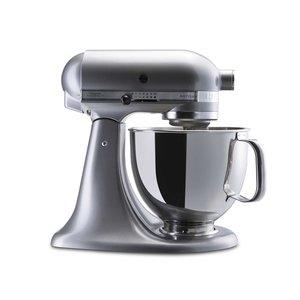 KitchenAid Küchenmaschine Artisan   4,8l, Kontur Silber 5tlg.