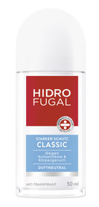 Hidrofugal Roll-On Klassik Anti-Transpirant 50 ml