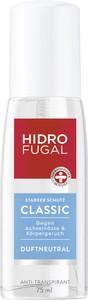 Hidrofugal Zerstäuber Classic Anti-Transpirant 75 ml