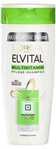 L'Oreal Elvital Multivitamin Pflege-Shampoo 300 ml