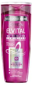 L'Oreal Elvital Nutri-Gloss Luminizer Shampoo 300 ml