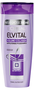 L'Oreal Elvital Volume-Collagen Aufpolsterndes Pflegeshampoo 300 ml