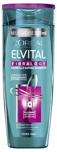L'Oreal Elvital Fibralogy Haarfülle-Aufbau Shampoo 300 ml