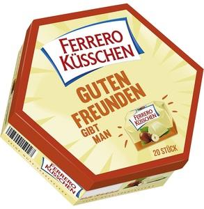 Ferrero Küsschen weiß 20 Stück 178 g