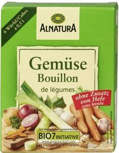 Alnatura Bio Gemüse Bouillon ohne Zusatz von Hefe klein 6x 11 g