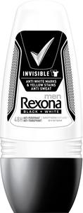Rexona Men Deo Roll-On Invisible Black + White 50 ml