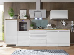 respekta Premium Küchen-Doppelblock 320 cm