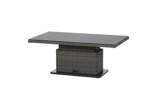 Creative Living Madrid Tisch Höhenverstellbar 130 x 75 cm Grau