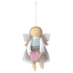 Dekohänger-Engel mit Tüllrock