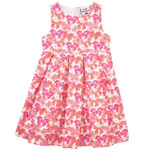 Mädchen Kleid mit Schmetterling-Allover