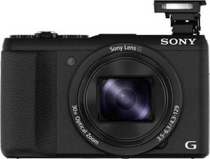 Sony DSC-HX60B Digitalkamera 20.4 Mio. Pixel Opt. Zoom: 30 x Schwarz Full HD Video, WiFi, Blitzschuh