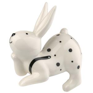 Deko-Kantenhocker Hase aus Porzellan