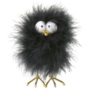 Dekofigur-Huhn mit Federn