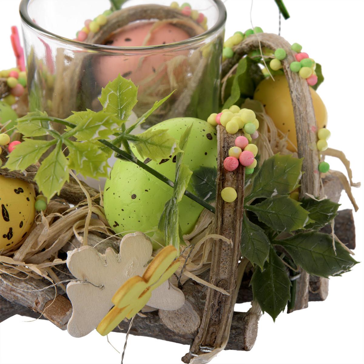 Bild 4 von Deko-Kranz mit Teelichthalter