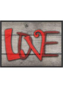 """Fußmatte """"Love"""""""
