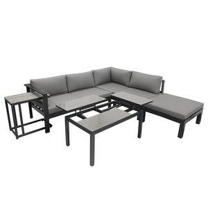 home24 Garten-Lounge-Eckgruppe Miranda