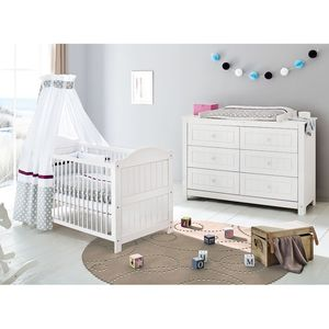 home24 Babyzimmerset Nina Kids (2-teilig)