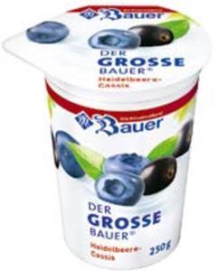 Bauer  Der große Fruchtjoghurt
