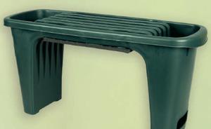 Pflanz- und Sitzbank
