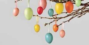 20er-Pack Kunststoff-Eier