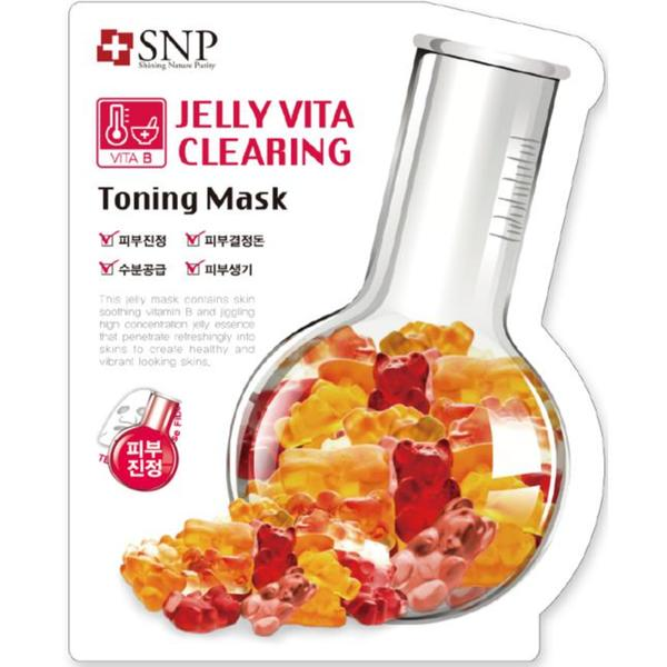 Beauty Box Korea - SNP Jelly Vita Brightening Toning Mask