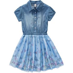 Mädchen Kleid mit Tüllrock