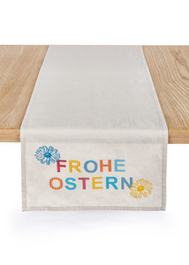 """Tischläufer """"Frohe Ostern"""""""