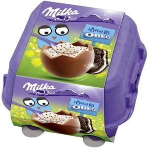 Milka Löffel-Ei Oreo 2.57 EUR/100 g