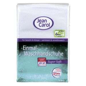 Jean Carol Einmal-Waschhandschuhe super soft