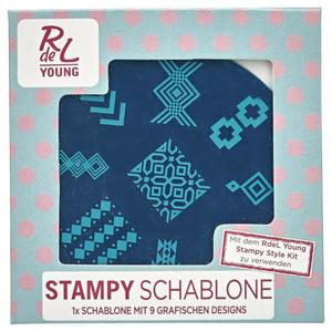 RdeL Young Stampy Schablone