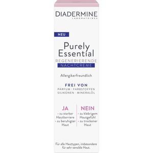 Diadermine Purely Essential regenerierende Nachtcreme 13.73 EUR/100 ml