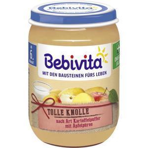 Bebivita Tolle Knolle nach Art Kartoffelpuffer mit Apfe 0.42 EUR/100 g (6 x 190.00g)